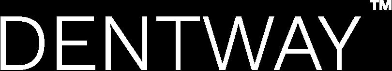 Dentway logo vit