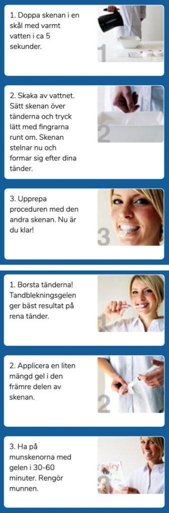 Dentway tandblekning manual