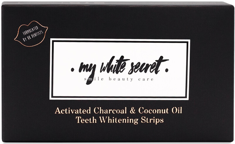 My white secret strips
