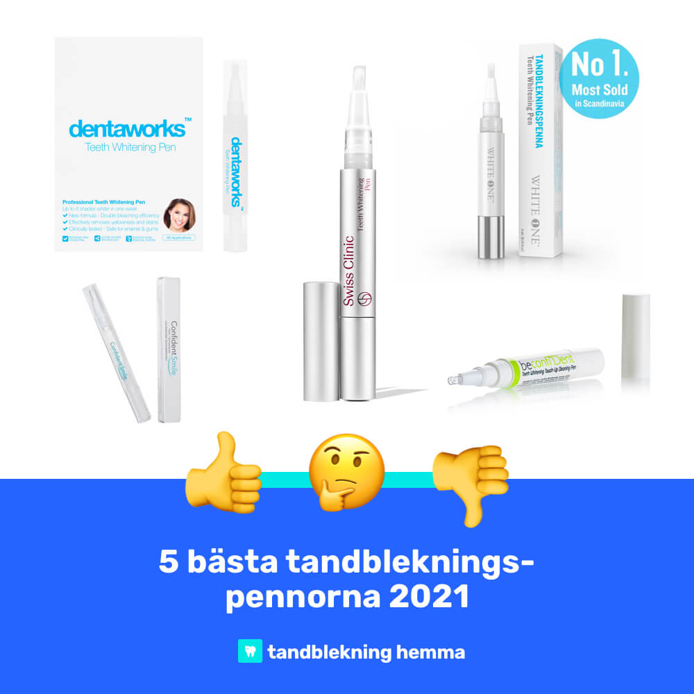 Bästa tandblekningspenna 2021