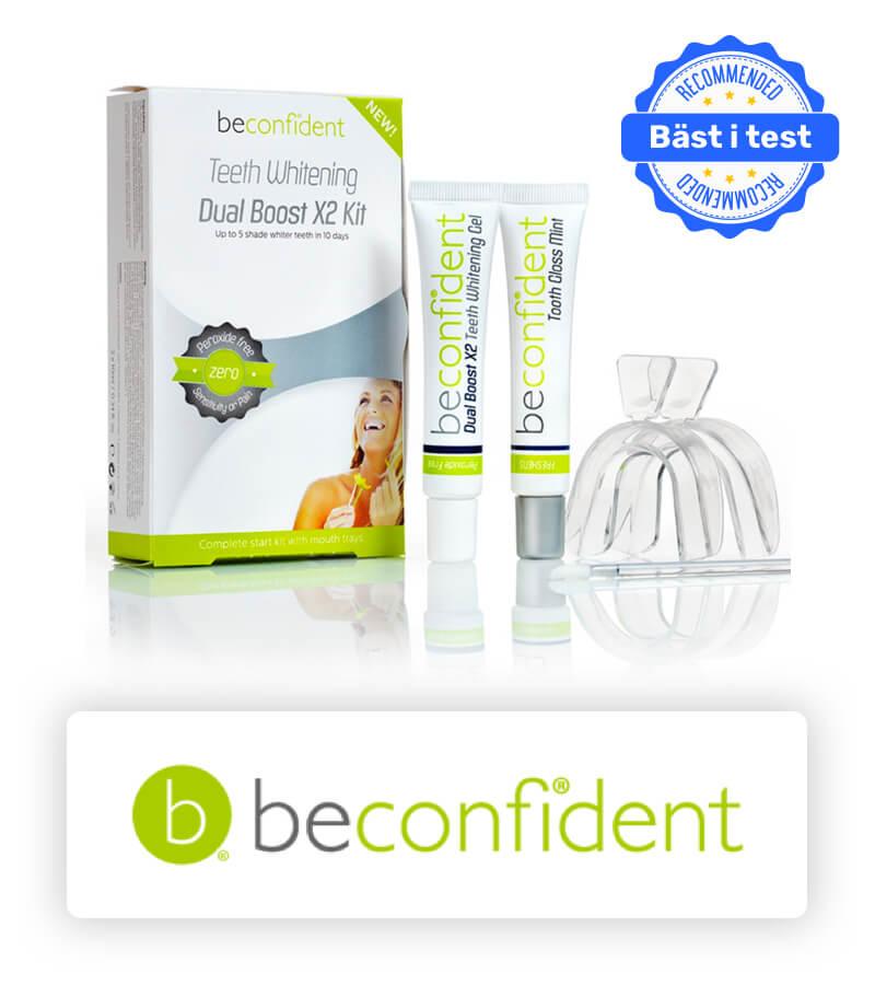 Beconfident tandblekning bäst i test