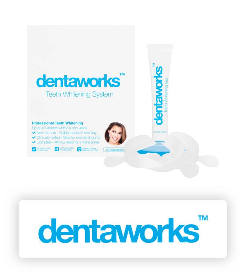 Dentaworks tandblekning kit