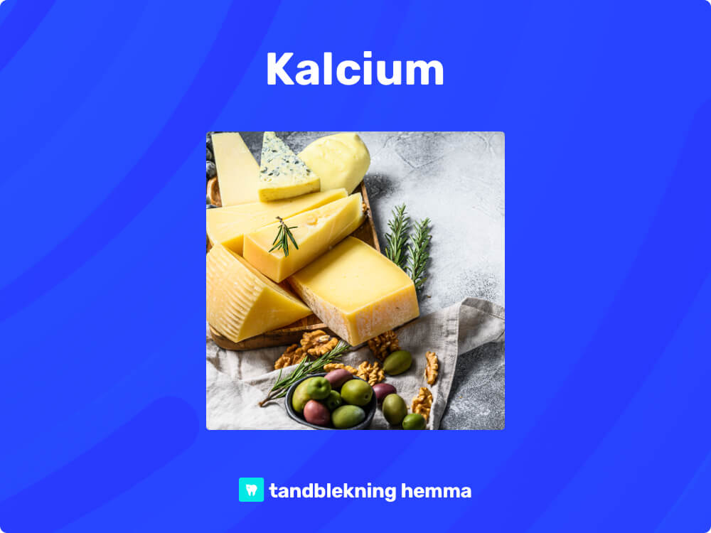 Tandblekning hemma kalcium