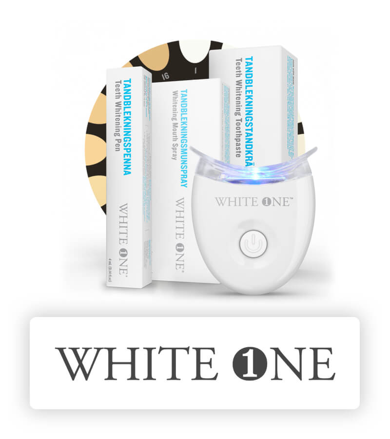 White one tandblekning
