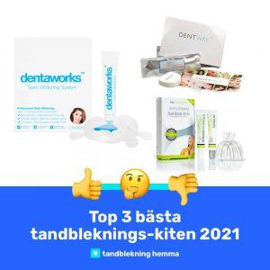 Bäst tandblekningskit 2021